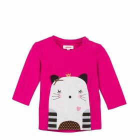 Catimini Long Sleeve Pocket Tee-Shirt