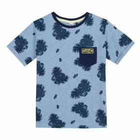 3 Pommes Kid Boy Night Blue Tee-Shirt