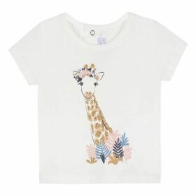 Absorba BABY GIRL TEE-SHIRT ECRU