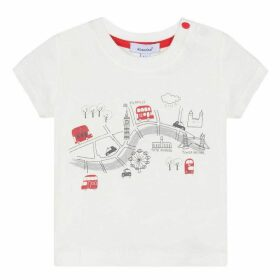 Absorba BABY BOY TEE-SHIRT ECRU