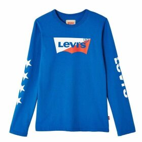 Levis All Ages Boy Long-Sleeve T-shirt
