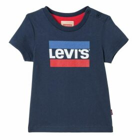 Levis Dark Blue Baby Boy T-shirt