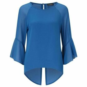 James Lakeland Flute three quarter Sleeve Blouse