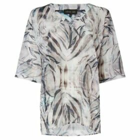 Label Lab Zebra print blouse