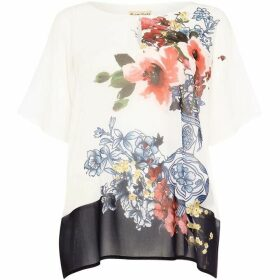 Phase Eight Tamara Floral Vase Print Blouse