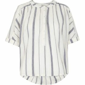 Whistles Multi Stripe Paula Blouse