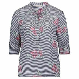 Betty Barclay Stripe And Floral Print Blouse