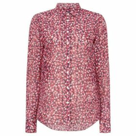 Gant Long Sleeve Button Up Floral Autumn Blouse