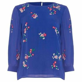 Phase Eight Hina Embroidered Blouse