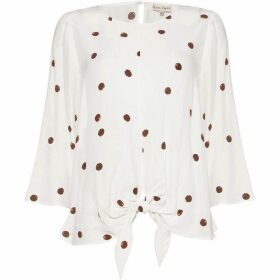 Phase Eight Daniella Spot Top Blouse