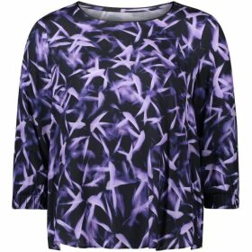 Betty Barclay Brush Print Blouse