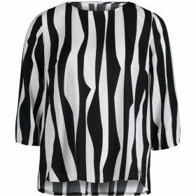 Betty Barclay Zebra Stripe Blouse