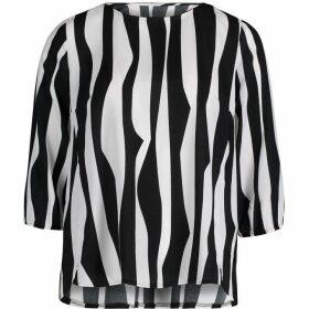 Betty Barclay Zebra Stripe Blouse