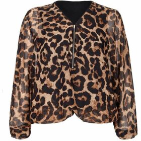 Mela London Curve Animal Print Blouse