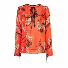 Karen Millen Lightweight Floral Blouse