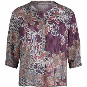 Betty Barclay Paisley Mix Print Blouse