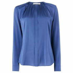 Boss Banora gathered neck blouse