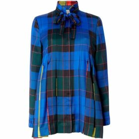 Escada Long sleeve checked blouse