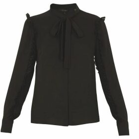 Ted Baker Tie Neck Blouse