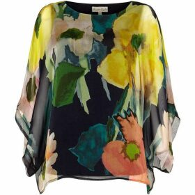 Phase Eight Azana Floral Silk Blouse