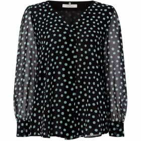 Marella Brian spot blouse