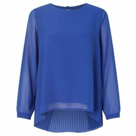 James Lakeland Pleat Back Blouse