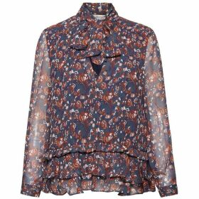 Great Plains Highland Floral Frilled Blouse