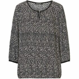 Betty Barclay Animal print blouse