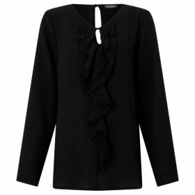 James Lakeland Frill Crepe Blouse