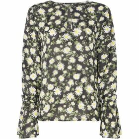 Twist and Tango Tonia daisy tie sleeve blouse