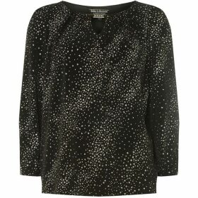 Dorothy Perkins Billie Black Label Star Trim Blouse