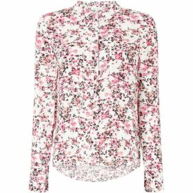 Samsoe and Samsoe Floral print long sleeve shirt
