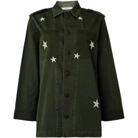 Replay Star Army Cotton Shirt