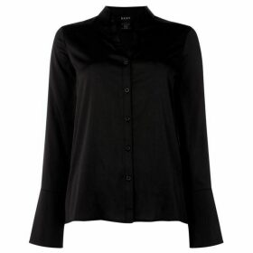 DKNY Button down shirt with combo fabric