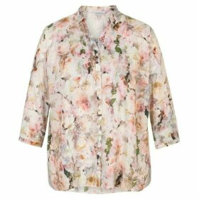 Chesca Floral Short Sleeve Shirt