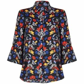Yumi Retro Flower Shirt