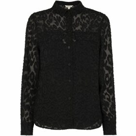 Whistles Animal Devore Military Shirt