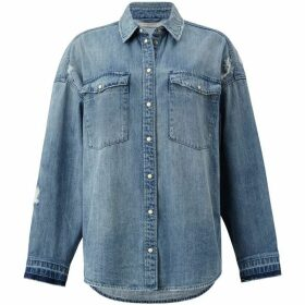 All Saints Harper Oversized Denim Shirt
