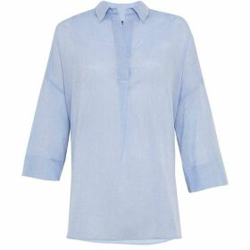 French Connection Jacinthe Stitch Pop Over Shirt