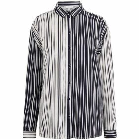 Warehouse Monochrome Mixed Stripe Shirt