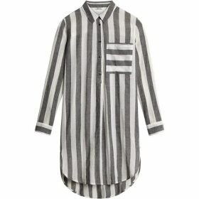 Sandwich Longline Stripe Shirt