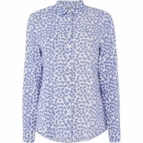 Crew Clothing Company Agnes Printed Viscose Shirt