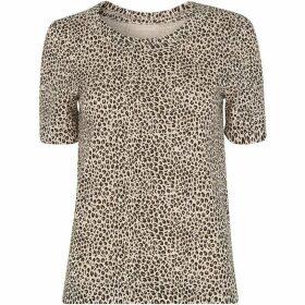 Whistles Mini Leopard Rosa Tshirt