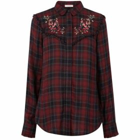 Oasis Embroidered Check Shirt