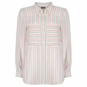 Mint Velvet Rainbow Stripe Shirt