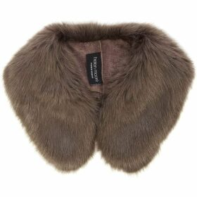 Helen Moore Faux Fur Shirt Collar