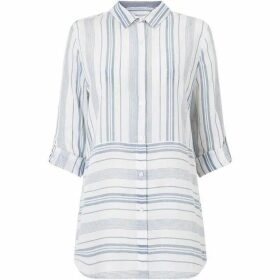 Phase Eight Adela Yarn Dye Stripe Shirt