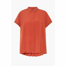 French Connection Classic Crepe Short Sleeve Shirt