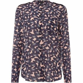 Armani Exchange Long sleeve print woven shirt