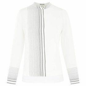Whistles Maisy Stripe Silk Shirt